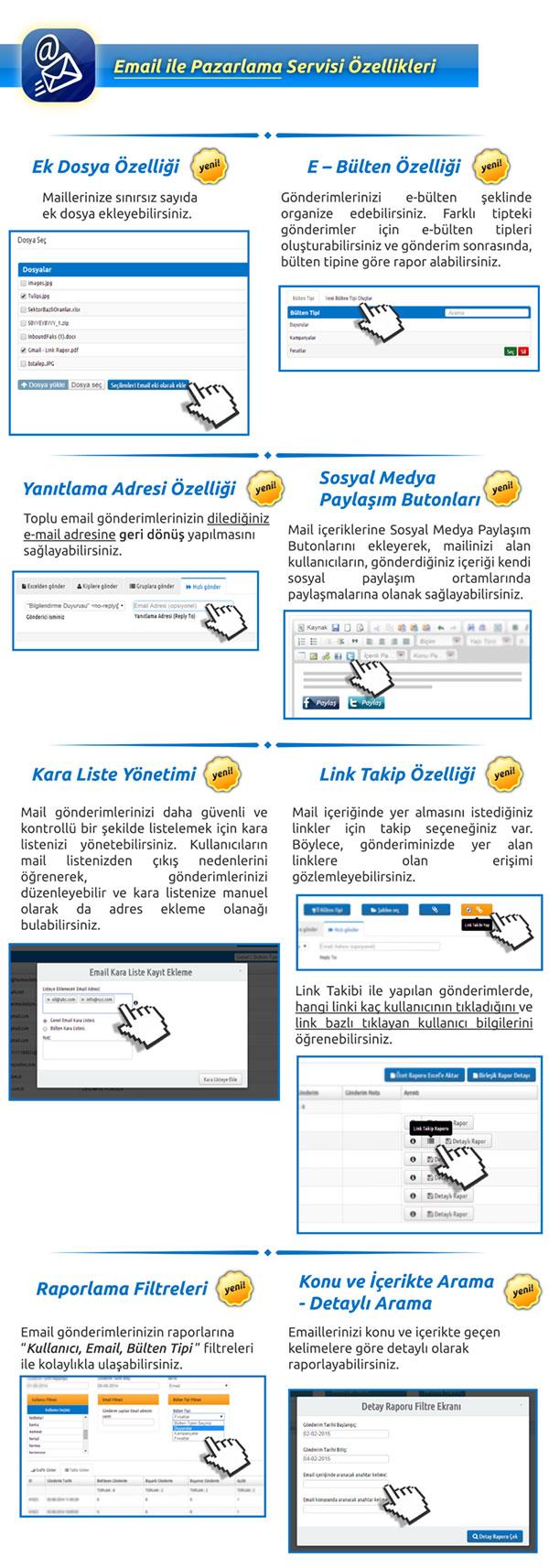 email-ozellikler