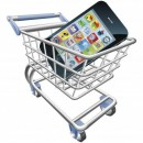 9722316-an-illustration-of-a-shopping-cart-trolley-with-smart-phone-mobile-phone