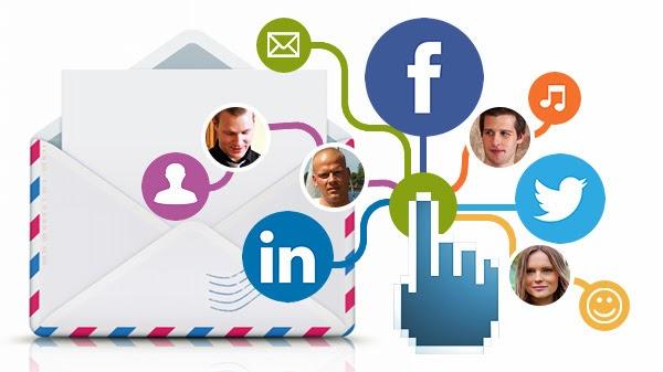 Email ile Pazarlama için sosyal medya